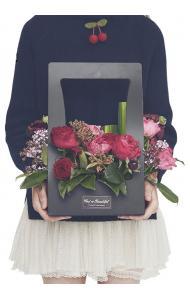 Karton Çiçek Kutusu